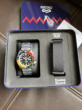 Rowing Blazers X Seiko 5 Special Edition Colorblock Watch SRPG53 IN HAND RARE