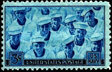 USA 1945 Sc935 1v mnh Achievements of the U.S. Navy in WWII.