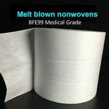 BFE99 Medical Grade Melt-blown Nonwoven DIY Fabric Craft Breathable Material 20M