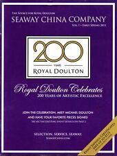 New listing Seaway China Company Royal Doulton Spring 2015 Catalogue