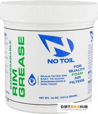 No-Toil Biodegradable Air Filter Rim Grease 453G Tub Ideal For Honda CRF 450R/X