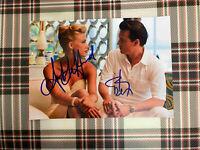 📸 Johnny Depp Amber Heard signed photo 6x8 inch coa
