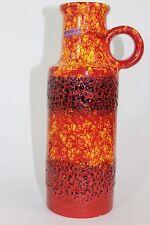 !! Scheurich 401-28 VASE modernist 1960s fat lava VINTAGE WGP vibrant colours !!