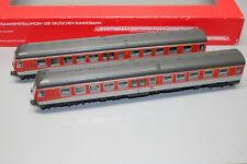 Fleischmann 4430 Rail Car Train Series 614 DB Gray / Orange Gauge H0 Boxed