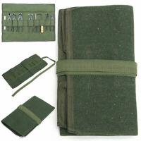 Japanese Bonsai Tools Storage Package Roll Bag Canvas Tool Set 600*430MM E0U5