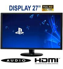 "Monitor LCD 27"" PLANAR PXL2770MW Full HD HDMI VGA DP MULTIMEDIALE VESA 16:9 WIDE"