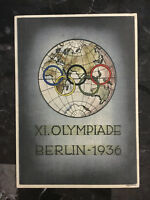 Mint 1936 Berlin Germany Olympics Picture Postcard Participating Countries World