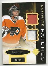 13-14 Ultimate Collection Steve Mason Ultimate Patches #UJ-SM Mint 33/35 Rare