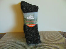 3 Pairs Mens Wool Blend Outdoor Crew Socks WearProof Sz 6-12 Men Winter Gear