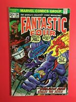 FANTASTIC FOUR #134 DRAGON MAN STALKS THE SKIES - Marvel 1973