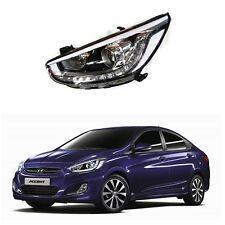 LED Head Light Lamp LH 921011R500 OEM For Hyundai Accent Verna Solaris 2013 2016