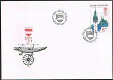 Czech Republic. 1993. FDC. Brno. 750th  Anniversary.