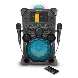 Singing Machine Festival Portable HD LCD Karaoke System With 2 Mics ™