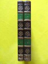 Juvénal Satires Chez Dalibon 1826 Dusaulx 2 volumes reliures signées Vogel