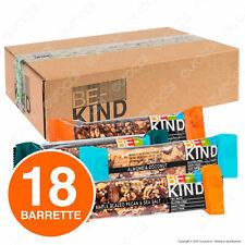 Box Barrette Be-Kind Snack con Frutta Secca 6 Gusti 18 Barrette da 40g