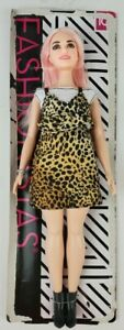 Barbie Fashionista 109 Curvy Animal Print Doll loose