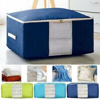 Large Storage Bag Box Oxford Clothes Quilt Bedding-Duvet-Laundry*Pillows-Zipped