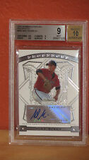 2009 Bowman Sterling Mike Minor Auto Rookie Card BGS 9 Auto 10.