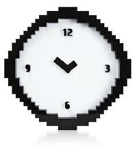 Pixel Time Clock Wall Geek Pop Culture Retro JPEG Time