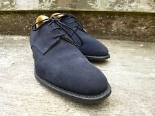 CHURCH DERBY SHOES – BLUE SUEDE –  UK 6.5 – OSLO – EXCELLENT CONDITION