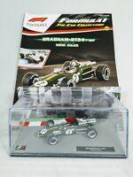 Panini Formula 1 Car Collection Denis Hulme Brabham BT24 - 1967 1:43 F1