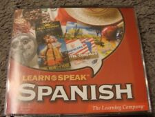Learn to Speak Spanish Version 8.1 The Learning Company 6 Cds Windows 2002 G6
