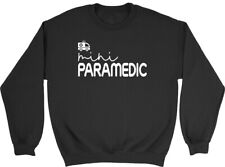 Mini Paramedic Kids Childrens Jumper Sweatshirt Boys Girls