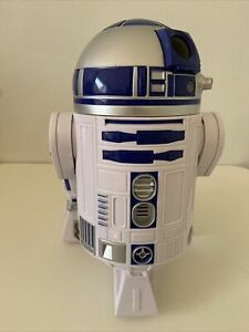 STAR WARS R2-D2 TALKING WITH LIGHTS AND MOVING LARGE ASTROMECH DROID FIGURE