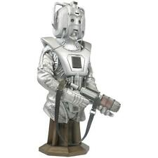 "DR WHO EARTHSHOCK CYBERMAN 8"" MASTERPIECE TITAN STATUE MAXI-BUST FIGURE MODEL"