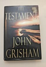 JOHN GRISHAM THE TESTAMENT FIRST EDITION 1999 Hard Cover w/dust jacket