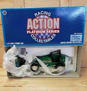 Action Platinum Series Steve Kinser Sprint Car Quaker State 1/24 Scale
