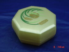 Vintage Merle Norman Make Up Case Cosmetic Powder Box Plastic Made in USA
