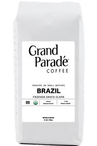 2 lbs Organic Brazilian Gourmet Medium Roast Coffee Beans, Fresh Roasted Daily