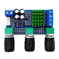 TPA3116D2 Digital Amplifier Board 2 Channel 2*80W Treble Bass Module DC 12-24V