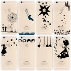 iPhone 6 / 6S Case Cute, Girls, Stars, Butterfly, Tinkerbell, Alice, Winnie Pooh