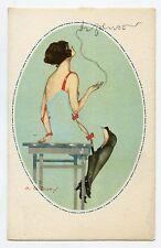 Erotique .Erotic . Jolie femme en lingerie fine . Underwear. A. LE DUCY