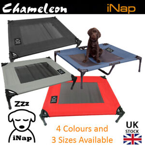 "Premium Dog Pet Elevated Bed Portable Raised, 3 sizes M30"" L36"" XL48"", 4 Colours"