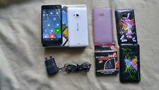 Microsoft Lumia 535 - Usato Nero con scatola 3 cover accesori + batteria - 8GB