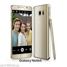 "Samsung Galaxy Note 5 5.7"" Android Smart Mobile Phone 16MP 4GB/32GB Octa Core"