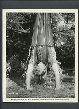 ROCK HUDSON HANGS UPSIDE DOWN AND GETS DRENCHED - HOWARD HAWKS COMEDY