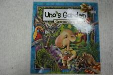 UNO'S GARDEN by Graeme Base hardcover picture book 1st Edition OOP 2006 NEW