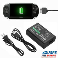 Home Wall Charger AC Adapter Power Supply USB Data Cable for Sony PS Vita PSV
