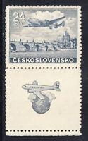 Tschechoslowakei 1946  Mi. 492 Zf ** postfrisch / MNH