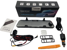 New listing 10'' 2.5K Mirror Dash Cam Backup Camera for Cars Front and Rear View Dual Lens
