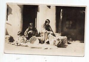 1916 Native American Women RPPC