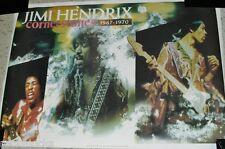 Jimi Hendrix Cornerstones Poster (Original Not A Remake Vintage 1990 Music Rock