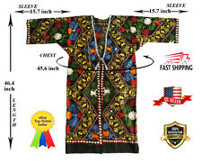 Multicolor Vintage Embroidery Uzbek Suzani Robe Dress Jacket SALE WAS $159.00