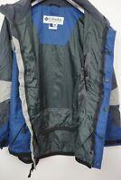 Men's Columbia Challenge Series Jacket Size Large Blue