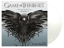 GAME OF THRONES SEASON 4 (RAMIN DJAWADI) - OST - 2LP / Transparent Vinyl (2018)