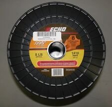 ECHO .095 CROSSFIRE STRING TRIMMER LINE 5 POUND SPOOL 1410' PART # 316095053 NEW